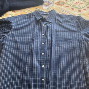 Eddie Bauer men's tall twoXL wrinkle free relaxed